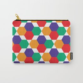 Geometric Shapes 03 Carry-All Pouch