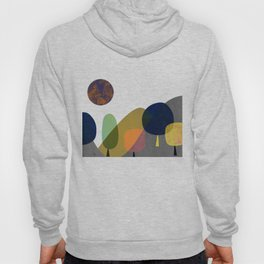 Mountains and trees2 Hoody