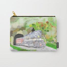 train in a tunnel Carry-All Pouch