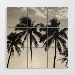 Hawaiian Palms II Wood Wall Art