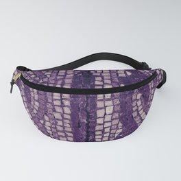 stone tile 4378 ultra violet Fanny Pack