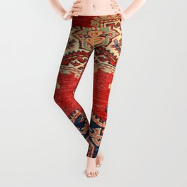 Natural Dyed Handmade Anatolian Carpet Leggings