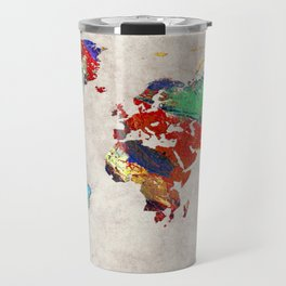 World Map 51 Travel Mug