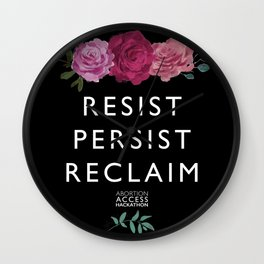 Resist, Persist, Reclaim Wall Clock