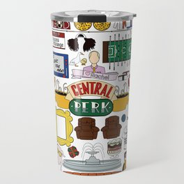 Collage Travel Mug