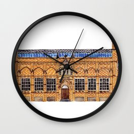 The Holden Gallery in Manchester by Charlotte Vallance Wall Clock
