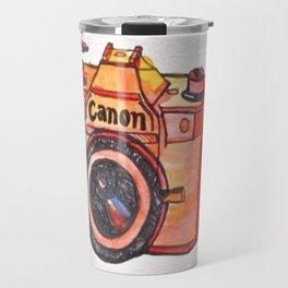 retro camera phone case Travel Mug