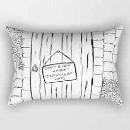 Introvert day Rectangular Pillow