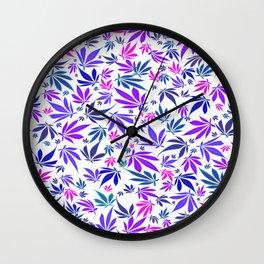 LED Purps Wall Clock