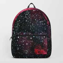 Red Cosmos Art Painting Backpack