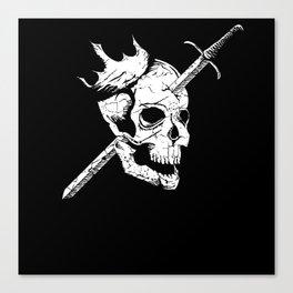 All Kings Must Die Canvas Print