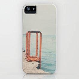 the orange steps ... iPhone Case