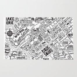 Cleveland Map Rug
