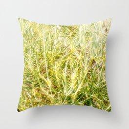 Glowing life beautiful nature Throw Pillow