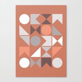 Mid Century Modern Geometric 18 Canvas Print