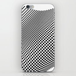 Weaving checker iPhone Skin