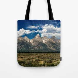 The Grand Tetons - Summer Mountains Tote Bag