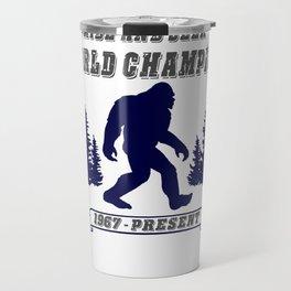 Hide and Seek World Champion Bigfoot Travel Mug
