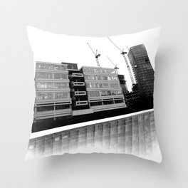 Modernity Lost Throw Pillow