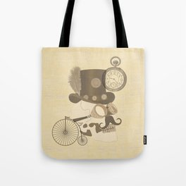 Steam Punked Tote Bag