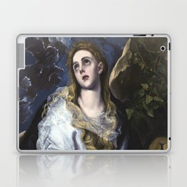 El Greco -  Mary Magdalen in Penitence Laptop & iPad Skin