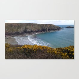 Caerfi Bay Canvas Print