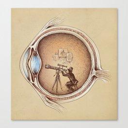 Extraordinary Observer Canvas Print