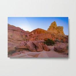 Colorful Sandstone, Valley of Fire - III Metal Print