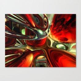 Sanguine Abstract Canvas Print