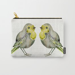 Little Yellow Birds Carry-All Pouch