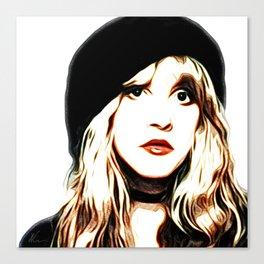 Stevie Nicks - Rhiannon - Pop Art Canvas Print