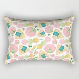 Japanese Snacks Rectangular Pillow