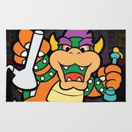 Dabbed Out Bowser Rug