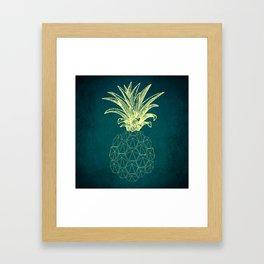 y-hello pineapple Framed Art Print
