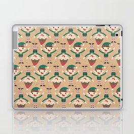 Day 18/25 Advent - Santa's Slaves II Laptop & iPad Skin