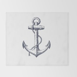 Anchor dS Throw Blanket