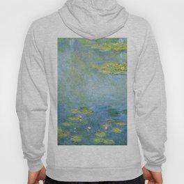 Water Lilies 1906 by Claude Monet Hoody