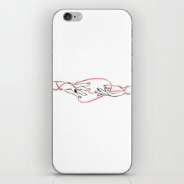 Reaching Out (v1) iPhone Skin