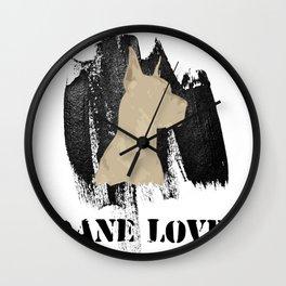 Dane Love Wall Clock
