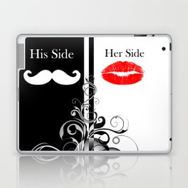 Hipster His Side Her Side Laptop & iPad Skin