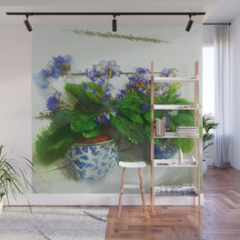 """""""Soothing Violets"""" Wall Mural"""