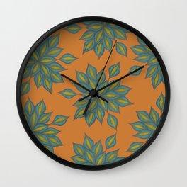 Seaflower Wall Clock