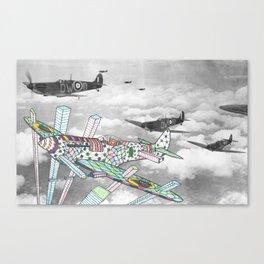 Whaam! Spitfire! Canvas Print