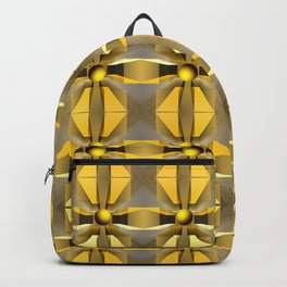 In a magical perspective, fractal abstract Backpack