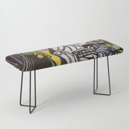 THE WEEPING WOMAN - PICASSO Bench