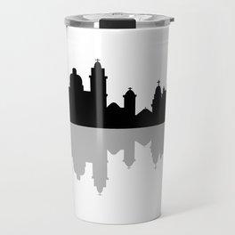 skyline of rio de janeiro Travel Mug