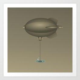 Fishing dreams Art Print