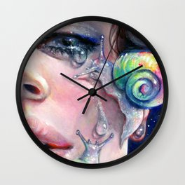 Thirsty Snails Wall Clock