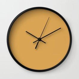 Cedar Creek Grist Mill ~ Gold Wall Clock