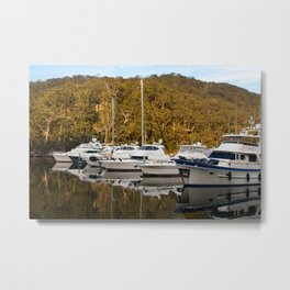 Empire Marina, Bobbin Head Metal Print